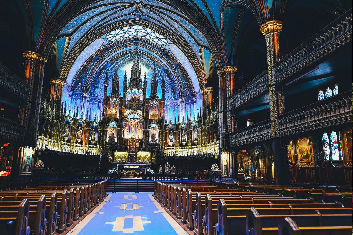 kościół w dniu ślubu